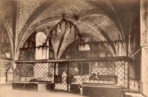 Kaple sv. Kříže na fotografii Jindřicha Eckerta (1878)